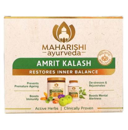 Амрит Калаш двойная упаковка (Amrit Kalash Dual Pack) Мaharishi Ayurveda 60табл + 600г. пасты