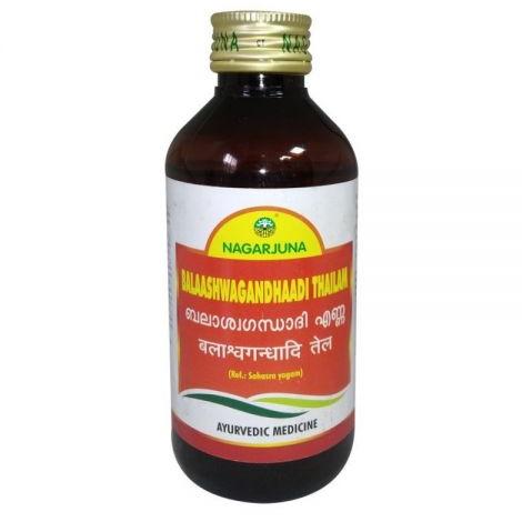 Балаашвагандхади масло массажное (Бала Ашвагандха ади тайлам ) Balaaswagandhaadi Thailam Nagarjuna