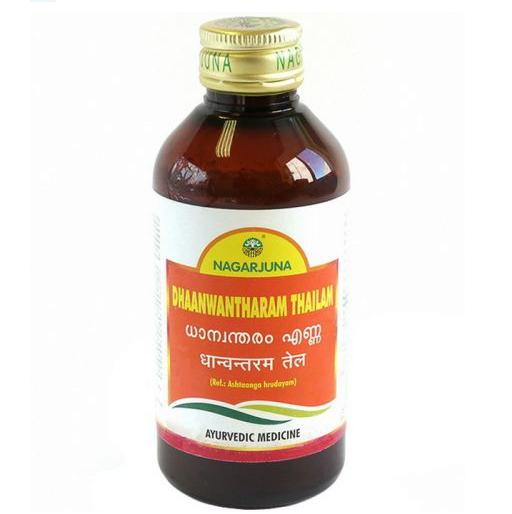 Дханвантарам Таилам масло для массажа  Dhaanwantharam Thailam Nagarjuna