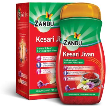 Чаванпраш Кесари Дживан Kesari Jivan Zandu