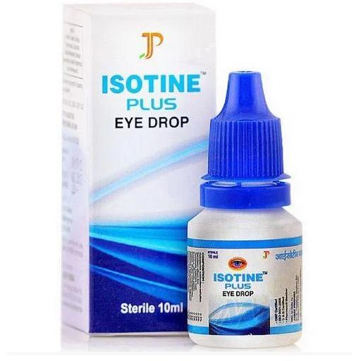 Айсотин плюс глазные капли Isotine Plus eye drop Jagat