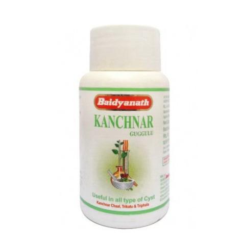 Канчнар Гуггул (Kanchnar Guggulu Baidyanath) Бадьянатх, 80т.