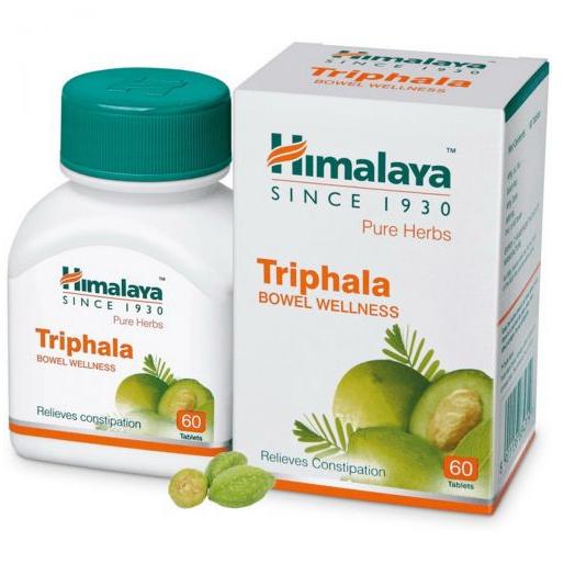 Трифала (Triphala) Очищение и баланс, Himalaya 60табл.