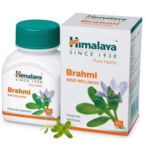 Брахми Бакопа монье (Brahmi) Himalaya 60табл.